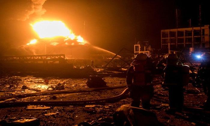Terrible Fire In China-TeluguStop.com