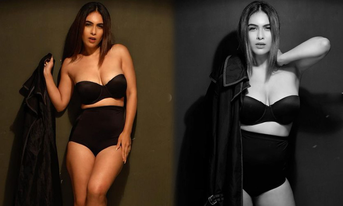 Social Media Influencer Bollywood Beauty Neha Malik Stunning Looks-telugu Actress Hot Spicy Photos Social Media Influenc High Resolution Photo