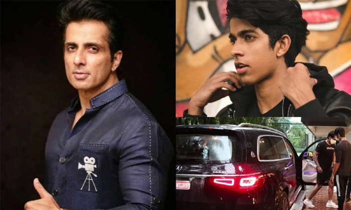 Sonu Sood Gift Mercedes Maybach Gls 600 To His Son Ishant Sood For Fathers Day-TeluguStop.com