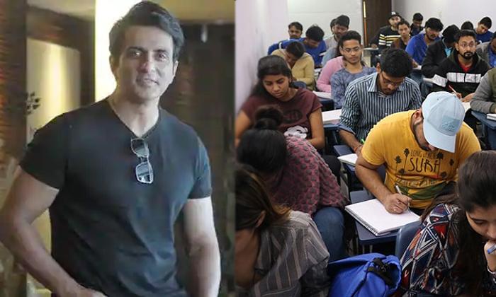 Sonusood To Arrange Free Ias Coaching Centers For Ias Aspirants-TeluguStop.com