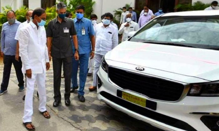 Cm Kcr Facing Criticism Over Buying Kia Cars For Additional Collectors-TeluguStop.com