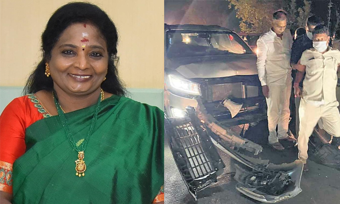 Telangana Minister Harish Rao Thanked Governor Tamilisai-TeluguStop.com