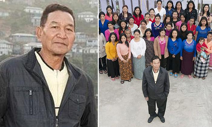 Worlds Biggest Family Man Ziona Chana Died In Mizoram-TeluguStop.com