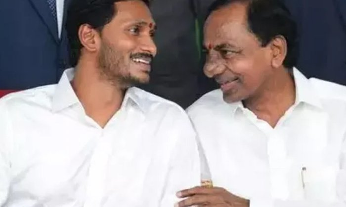 Kcr Angry On Jagan What Is The Reason-TeluguStop.com