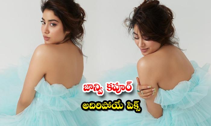 Bollywood gorgeous actress Janhvi Kapoor cute poses-జాన్వి కపూర్ అదిరిపోయే పిక్స్