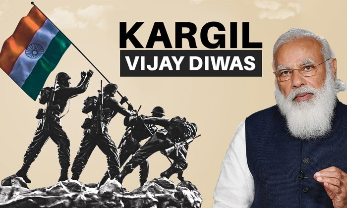 Central Leaders To Pay Tributes To Kargil Martyrs Today-TeluguStop.com