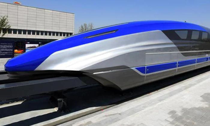 Telugu 1000km, 1000km In 2hours, 600kms Per Hour, China, China Unveils 1000kms Maglev Train, Fastest Train, Maglev Train, Magnetic Levitation Train, Social Media, Train, Travel, Viral Latest, Viral News-Telugu NRI