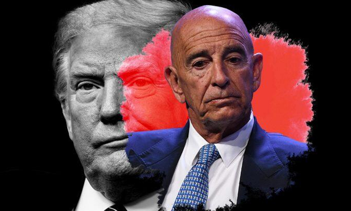 Trump Ally Tom Barrack Jailed On Charges Of Illegal Lobbying For Uae-TeluguStop.com