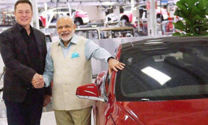 Telugu Big Shock To Tesla Indian Govt Says No Specific Incentives And Import Duties, Duty Relaxation, Elon Musk Tesla Car Launch, Pm Modi, Telsa Ceo Elon Musk, Temporary Relief Evs In India, Tesla Model 3 Car, Tesla Model 3 Car Price-Telugu NRI