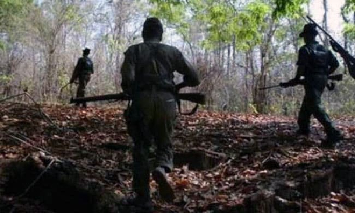 Exchange Of Fire Breaks Out Between Police And Maoists In Ap-TeluguStop.com