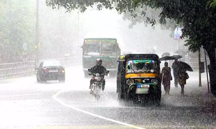 Heavy Rains To Lash Out Coastal Districts Of Ap For Next 48 Hours-TeluguStop.com