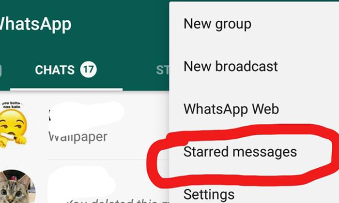 Telugu Bookmark Messages In Whatsapp, Do You Know How To Bookmark Whatsapp Messages, Star Icon In Whatsapp, Starred Messages On Whatsapp, Whatsapp, Whatsapp Chat, Whatsapp Messages, Whatsapp Tricks-Latest News - Telugu