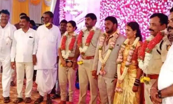 Telugu Accused Person\\'s Marriage, Booked, Ig Action, Karnataka, Police, Police Attends Accused Person\\'s Marriage, Police Officers, Police Uniform, Viral News-Latest News - Telugu