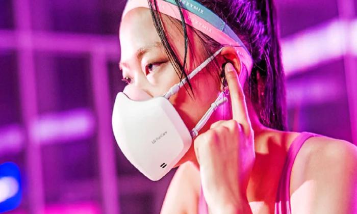 Lg Puricare Face Mask Battery Mic Speakers-TeluguStop.com