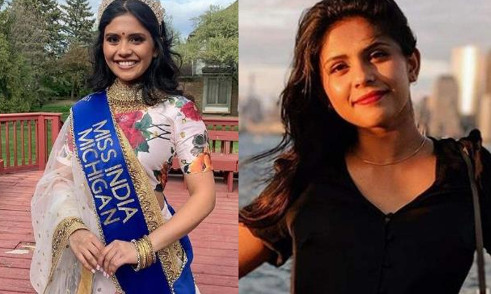 Vaidehi Dongre Crowned Miss India Usa Arshi Lalani Becomes The First Runner Up-TeluguStop.com