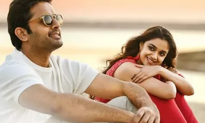 Telugu Keerthi Suresh, Nithiin, Rang De Movie, Television Screens, Venki Atluri-Movie