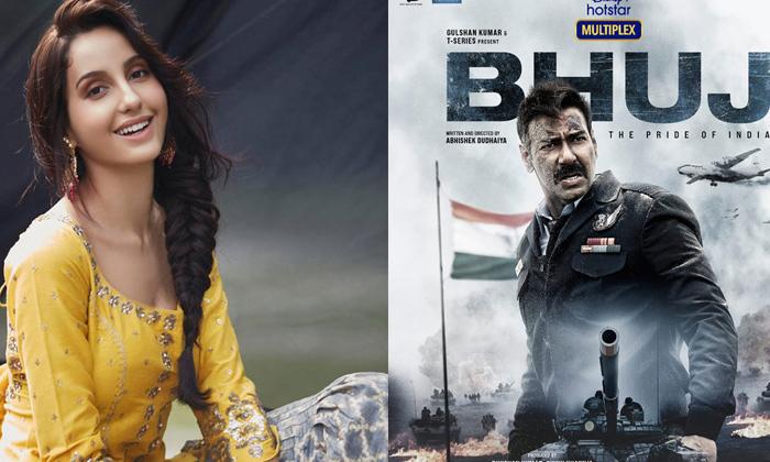 Telugu Ajay Devgn, Bhuj The Pride Of India, Biopic, Bollywood Heroines, Madhuri Dixit, Nora Fatehi, Nora Fatehi About Madhuri Dixit, Nora Fatehi React About Madhuri Dixit Biopic-Movie