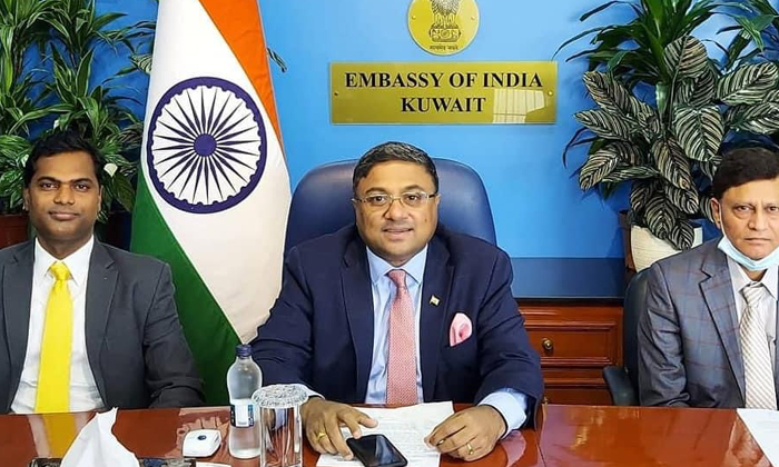 Indian Embassy Open House For Expatriates In Kuwait-TeluguStop.com