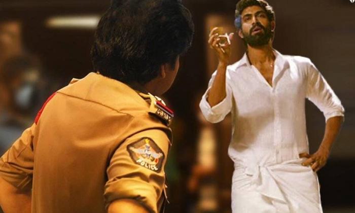 Pawan Kalyan Bhimla Nayak Movie Stills Viral-TeluguStop.com