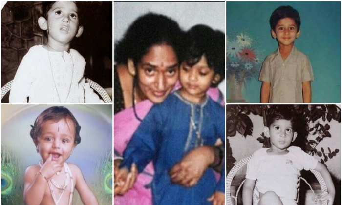 Prabhas Childhood Photos Viral-TeluguStop.com