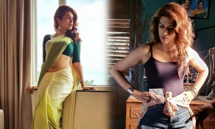 Social Media Influencer Beauty Actress Shraddha Das Glamorous Images-telugu Actress Hot Photos Social Media Influencer B High Resolution Photo