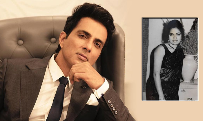 Sonusood Tweets That Weigh Heavily On The Heart About Her Mother Birhtday-TeluguStop.com