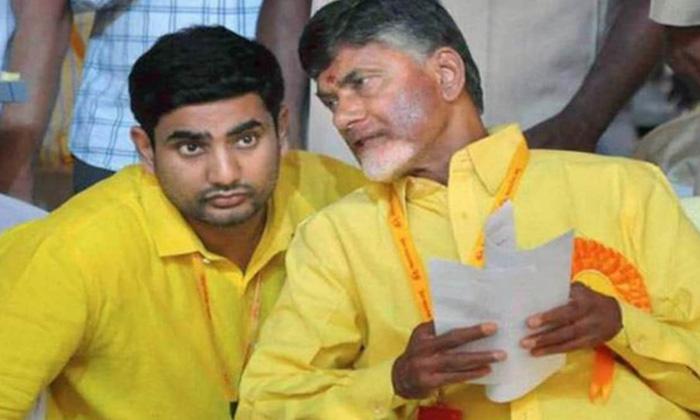 Chandrababu Lokesh Troubled On Ntr Issue-TeluguStop.com