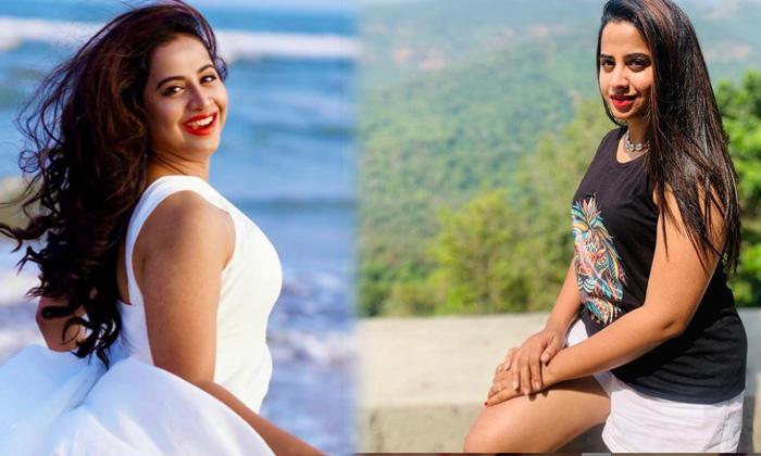 Telugu Bigg Boss 4 Fame Actress Swathi Deekshith Looks Cool In This Latest Pictures - Telugu Swathi Deekshith Bigg Boss High Resolution Photo