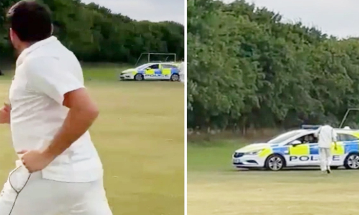 Thief Enters The Cricket Ground What Happens At Last-TeluguStop.com