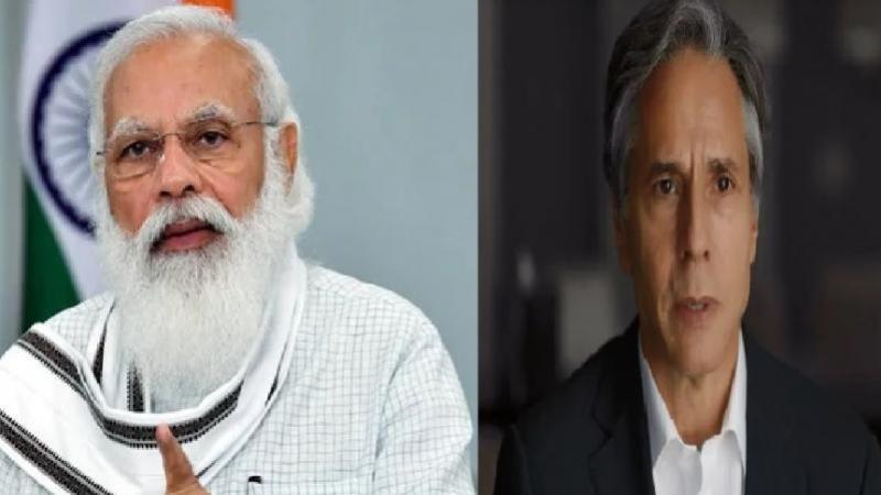 Us Secretary Of State Meets Modi-TeluguStop.com