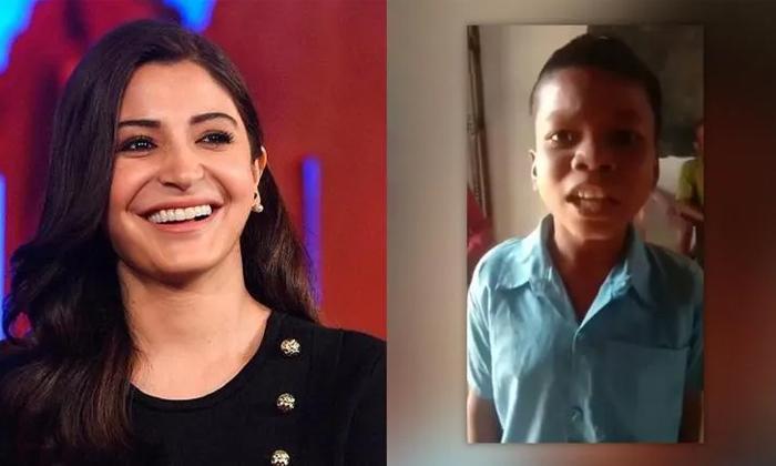 Anushka Sharma Latest Insta Post On Bachpan Ka Pyar Song-TeluguStop.com