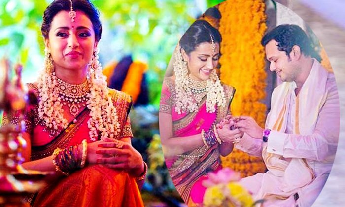 Actress Trisha Gives Clarification On Her Marriage Rumors In Social Media-TeluguStop.com