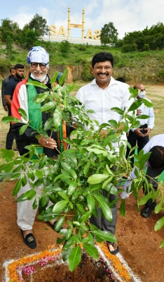 Amitabh Bachchan Takes Part In Green India Challenge-TeluguStop.com