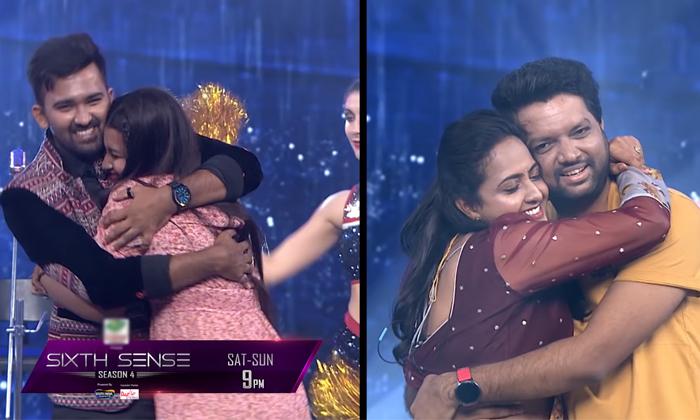 Anchor Lasya Shocking Comments On Her Husband Manjunath In Sixth Sense Show-TeluguStop.com