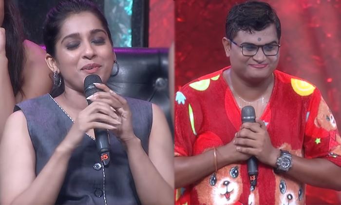 Anchor Rashmi Gautam Comments About Chaitanya Master-TeluguStop.com