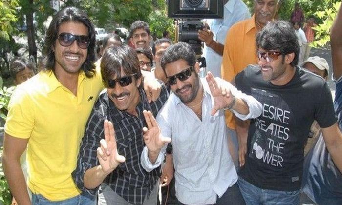 Bahubali Prabhas In Rrr Promotinal Song-TeluguStop.com