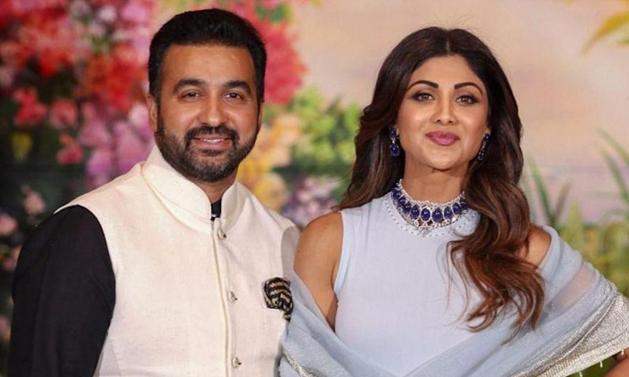 Bollywood Star Heroine Shilpa Shetty Husband Arrested-TeluguStop.com