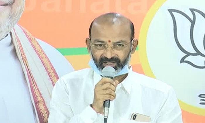Oops Bandi Sanjay Rush Center Counter-TeluguStop.com