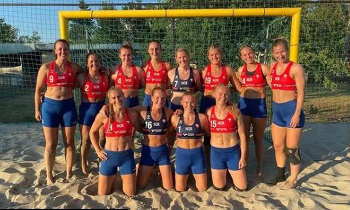European Hand Ball Federation Fined 1500 Euros To Norway Women Team For Not Wearing Bikini-TeluguStop.com