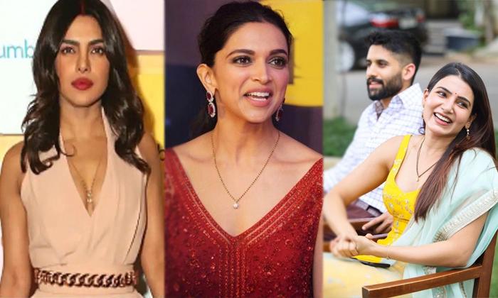Favourite Heroines Mangala Sutra Photos Goes Viral In Social Media-TeluguStop.com