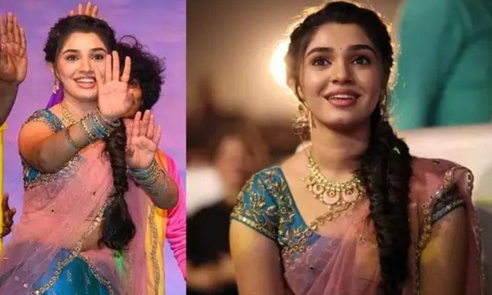 Uppena Heroine Krithi Shetty New Movie Bangarraju-TeluguStop.com