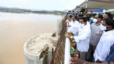 Focus On Rehabilitation Work In Polavaram Project: Andhra Cm-TeluguStop.com