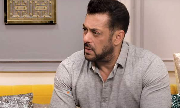 This Is How Salman Khan Reacted To The Question That He Has Wife And Daughter In Dubai-TeluguStop.com