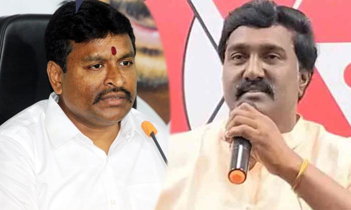 Janasena Party Started Targetting Ycp Minister Vellampalli Srinivas Illegal Works-TeluguStop.com