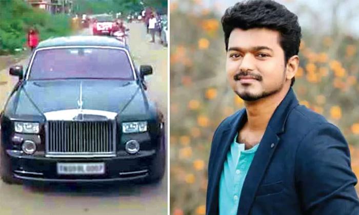Madras High Court Declared No Fine For Hero Vijay-TeluguStop.com