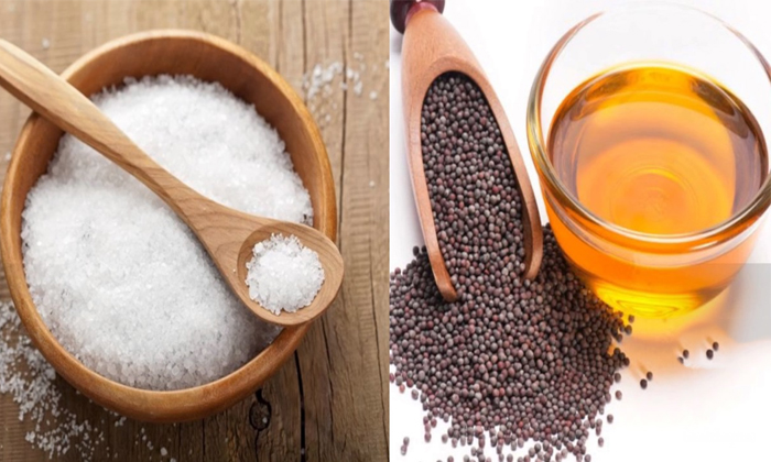 Mustard Oil Helps For Teeth Whitening-TeluguStop.com