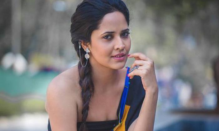 Anchora Anasuya Photos Goes Viral In Social Media-TeluguStop.com