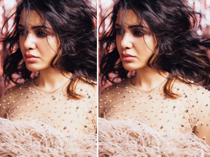Samantha Latest Photo Goes Viral On Social Media-TeluguStop.com
