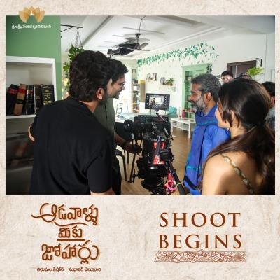 Sharwanand, Rashmika Mandanna Start Shoot Of 'aadavaallu Meeku Joharlu'-TeluguStop.com