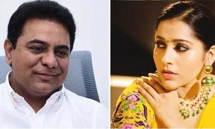 Please Soemthing Needs To Be Done Rashmi Asks Ktr-TeluguStop.com